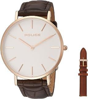 [ポリス]POLICE 腕時計 MAJESTIC PL.15304BSR/01SET 【正規輸入品】