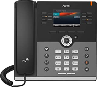 """Axtel Enterprise HD IP Phone – Classic Gigabit IP Phone AX-300G, 2.8"""" Back lit Display, Up to 4 SIP Lines, 5-Way conferenc..."""