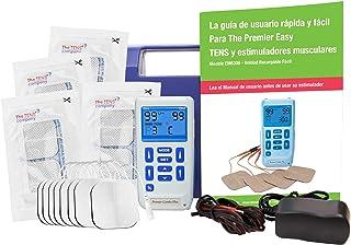 comprar comparacion Estimulador muscular y TENS recargable profesional Med-Fit: 24 programas integrados y viene con ajustes manuales, puede cr...