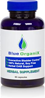 Overactive Bladder Control Pills for Women and Men, Frequent Urination, Overactive Bladder Supplement for Nocturia or Urin...