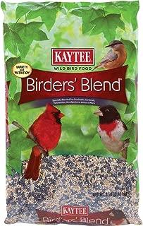 Kaytee 100033756 Birders' Blend, 8-Pound Bag, red