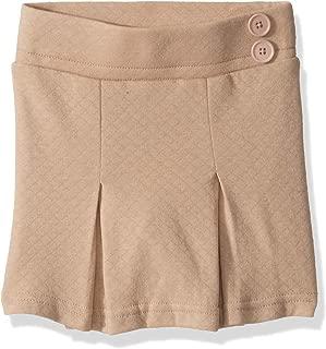 Girls' Jersey Scooter with Waist Buttons and Hidden Short