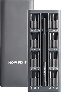 How-Fixit PRO 24 bit Screwdriver Set for Repair Electronics iPhone, Laptop, PC, Game Console PS4, Xbox Controller, Tablet, Glasses etc