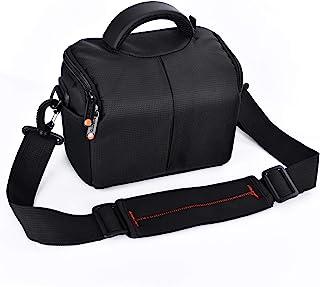 FOSOTO Waterproof Anti-Shock Camera Case Bag for Canon Powershot SX540 SX530 SX60 SX420 HS M5,Nikon Coolpix L340 B500 L330...