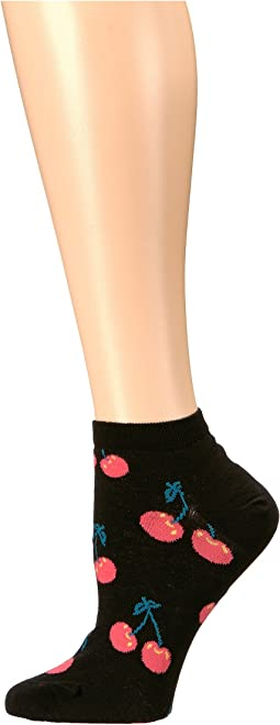 Cherry Low Socks