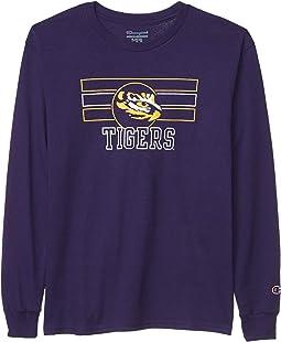 LSU Tigers Long Sleeve Jersey Tee (Big Kids)