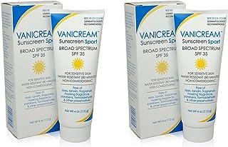 Vanicream SPF 35 Sunscreen Sport, 4-8 Ounce, Pack of 2
