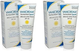 Vanicream Sunscreen Sport, Spf 35, 4-ounce (Pack of 2)