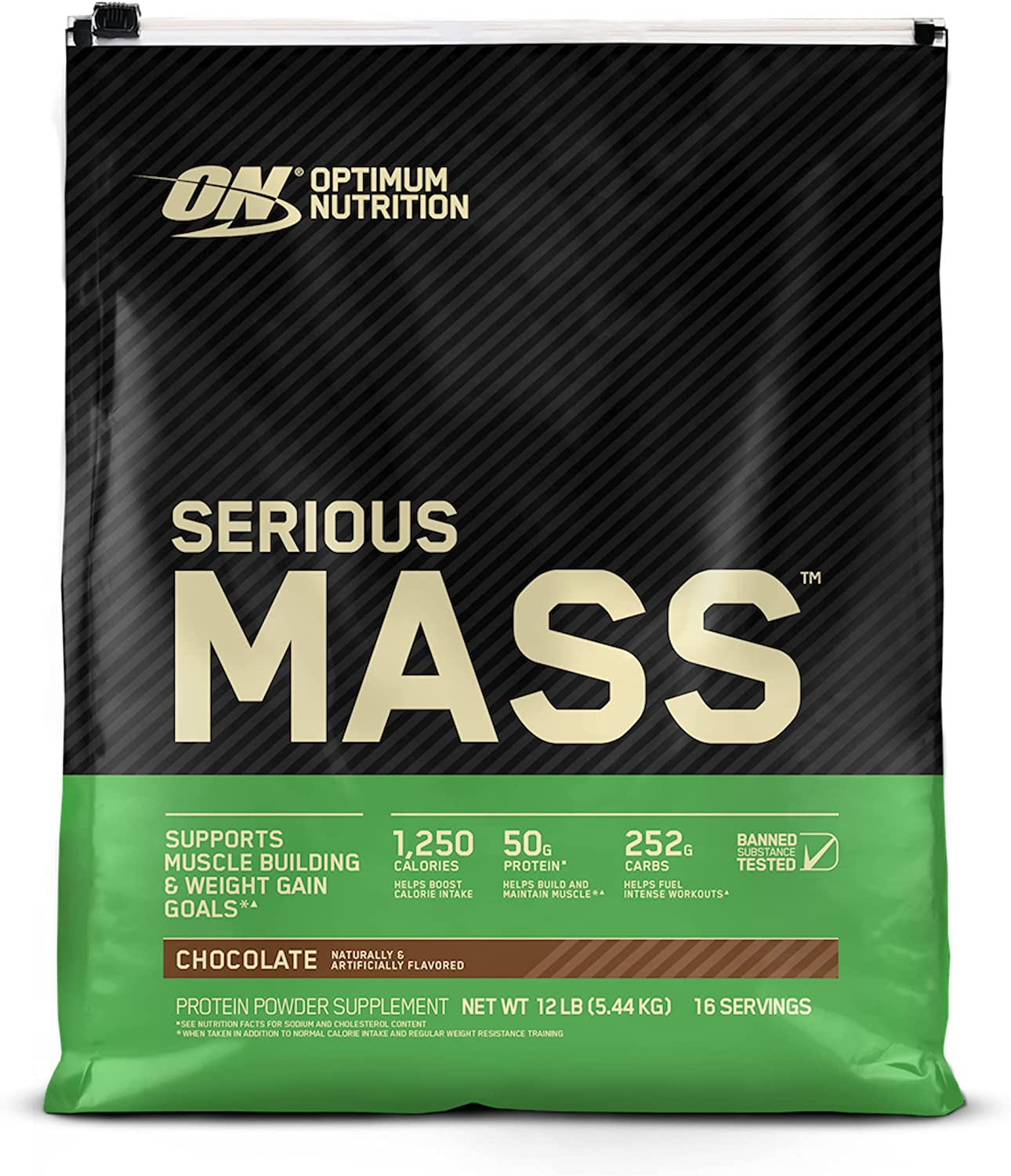 Max 89% OFF Optimum Nutrition Serious Mass Weight Gainer Powder Vit Protein Super Special SALE held