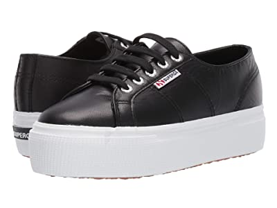 Superga 2790 Nappaleaw Sneaker (Black) Women