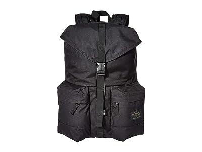 Filson Ripstop Nylon Backpack (Black) Backpack Bags