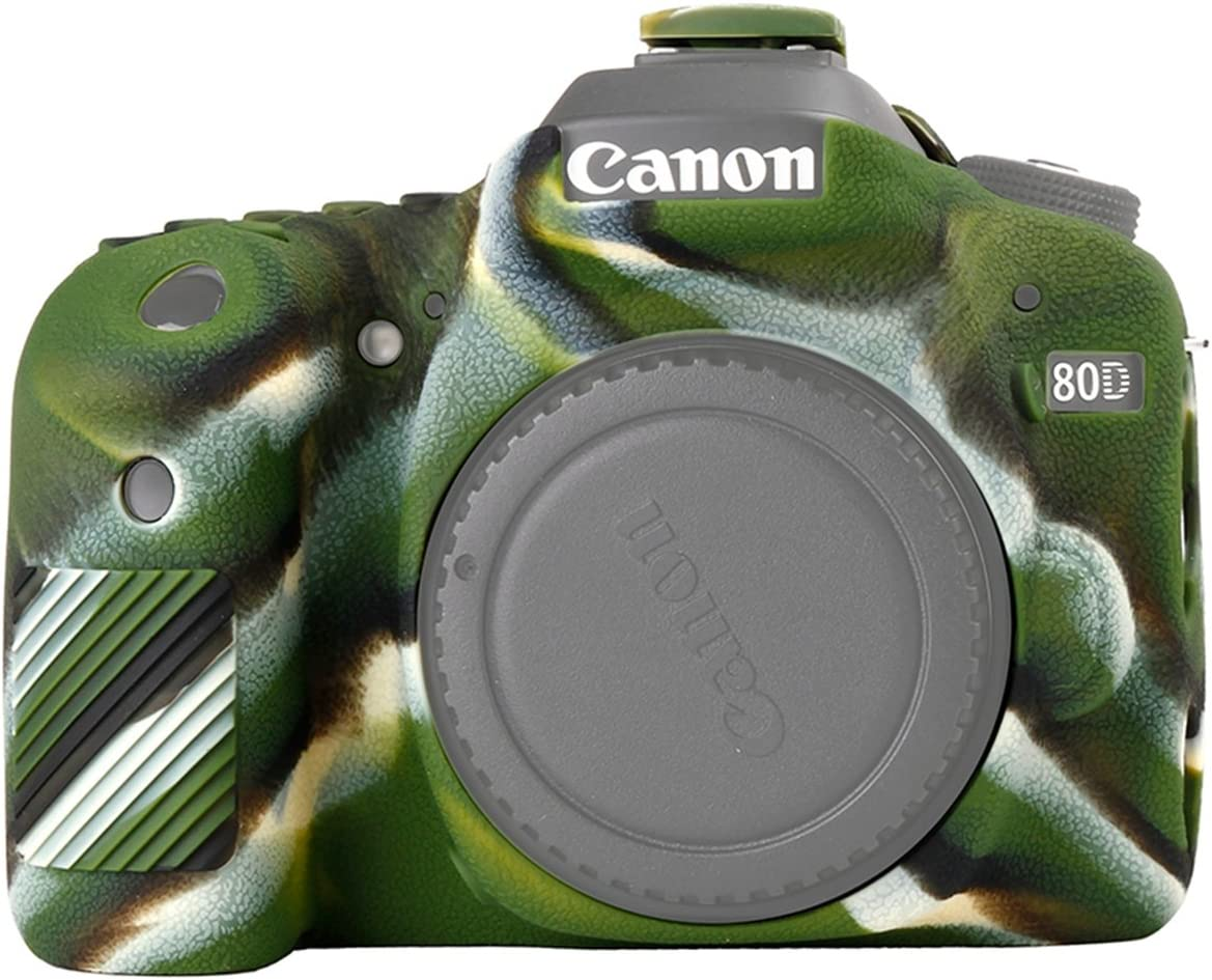 STSEETOP Canon 80D Case Silicone Professional Cheap mail order specialty store Max 63% OFF Camera Rubber