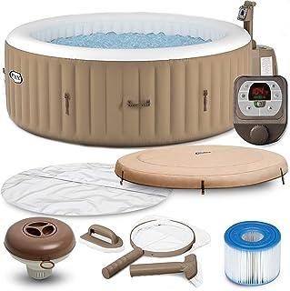 Intex PureSpa Becherhalter und Auffrischwanne mit 12 S1 Poolfiltern