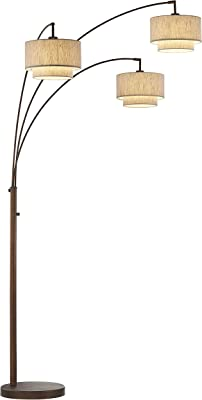 Artiva Usa Led602109fbz Luce Led Arched Floor Lamp 84 Inches Antique Bronze