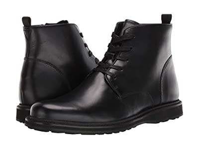 John Varvatos Brooklyn Lace Boot (Mineral Black) Men