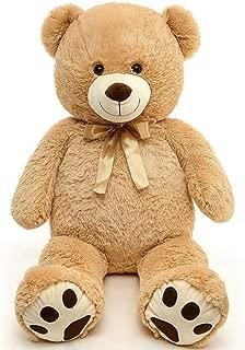 MaoGoLan Giant Teddy Bear Large Soft Big Bear Stuffed Animals Plush for Back to School Girlfriend Kids,39 inch Tan