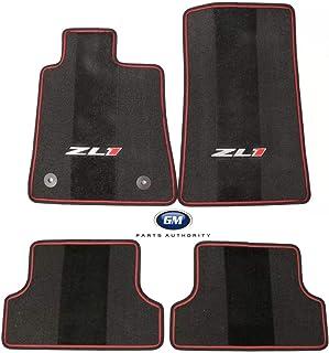 GM Accessories 17800428 Third-Row One-Piece Carpeted Floor Mat in Ebony General Motors