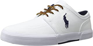 Polo Ralph Lauren Mens Faxon SK VLC Sneaker