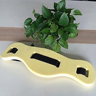GCDN Cinturón de natación, Flotador Cintura de Espuma Cinturón de Espuma Adultos Niños Ayuda de Entrenamiento Seguro Tablero de Espuma para niños Deportes(Yellow)