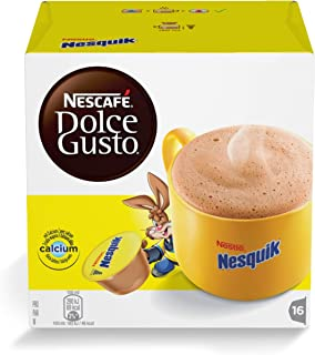 Nescafé Dolce Gusto - Nesquik (Poudre de cacao)   Poids Total 256 grams