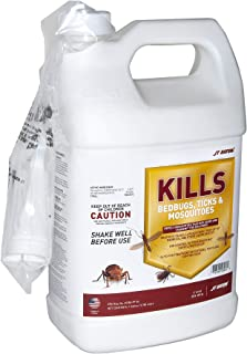 JT Eaton 209-W1G Kills Bedbugs, Ticks and Mosquitoes Water Based Spray with Sprayer Attachment, 1-Gallon
