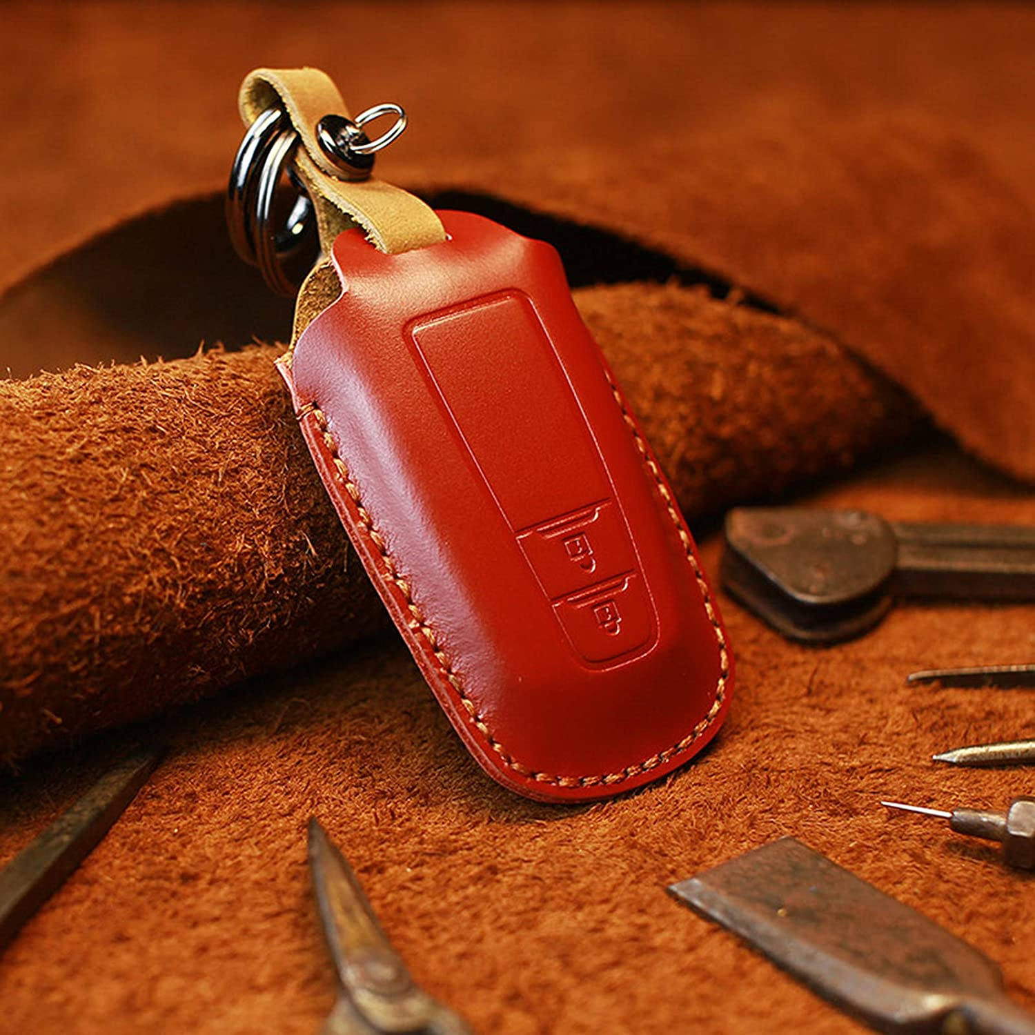 Leather car Key Cover Directly managed store case Shell Prius Brand Cheap Sale Venue Fit Toyota Ca for