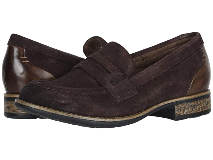 60s Shoes, Boots Earth Avani Barcelona Chocolate Multi Premium Cow SuedeSoft Calf Womens  Shoes $84.99 AT vintagedancer.com