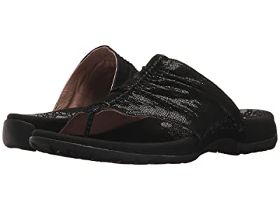 Taos Footwear Gift 2 (Black Printed Leather) Women