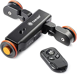TARION Y5D スライダー 電動式 ワイヤレスリモート 電動ドリー 往復運動でき 充電式 一眼レフ ミラーレス スマホに適用