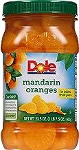 DOLE Mandarin Oranges in 100% Fruit Juice 23.5 oz. Plastic Jar (Pack of 8)
