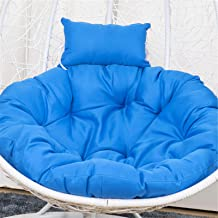 Cushion Hanging Egg Hammock Swing Chair Cushion Chaise Lounger Pad Furniture Patio Lounger Bench Thick Fiber Solid Color,B...