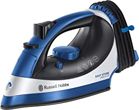 Russell Hobbs Easy Store Steam Iron, Blue/White