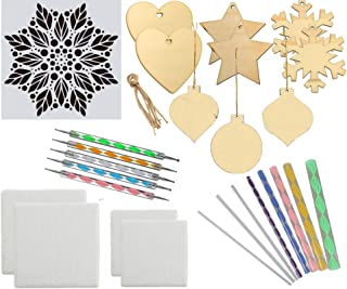 Dotting Tools for Painting Mandalas Starter Set 27 Pieces with Canvas and Ornaments in Gift Storage Box (27 Piece Craft Set)