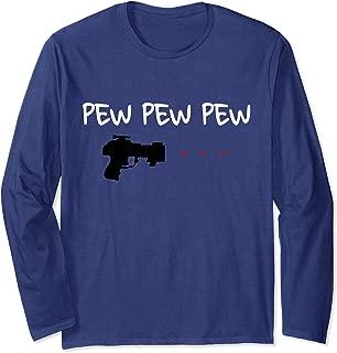 Laser Tag Shirt Shooting Laser Gun Pew Pew Pew Alien Blaster