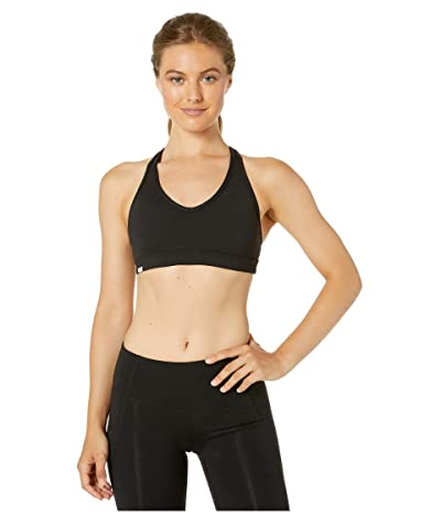Bloch Sports Bra with Keyhole Back (Black) Women