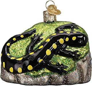 Old World Christmas Glass Blown Ornament - Salamander 3¼""