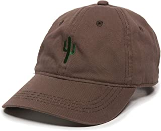 ef1d77254db9d Cactus Embroidered Dad Hat - Adjustable Polo Style Baseball Cap for Men    Women