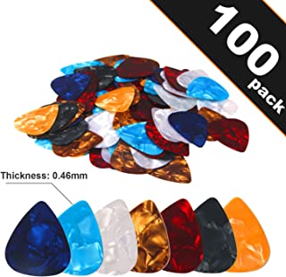 100pcs The Thinest Guitar Picks Sampler Value Pack 0.46mm Thickness