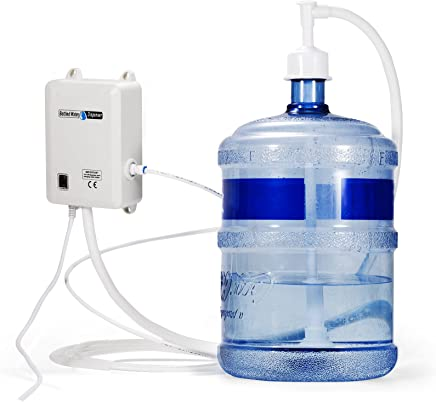 VEVOR Bottled Water Dispensing Pump System 115 with US Plug Perfect for 5 Gallon Voltage White