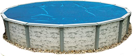 Blue Wave NS115 8-mil Solar Blanket for Round Above-Ground Pools, 21-ft, Blue