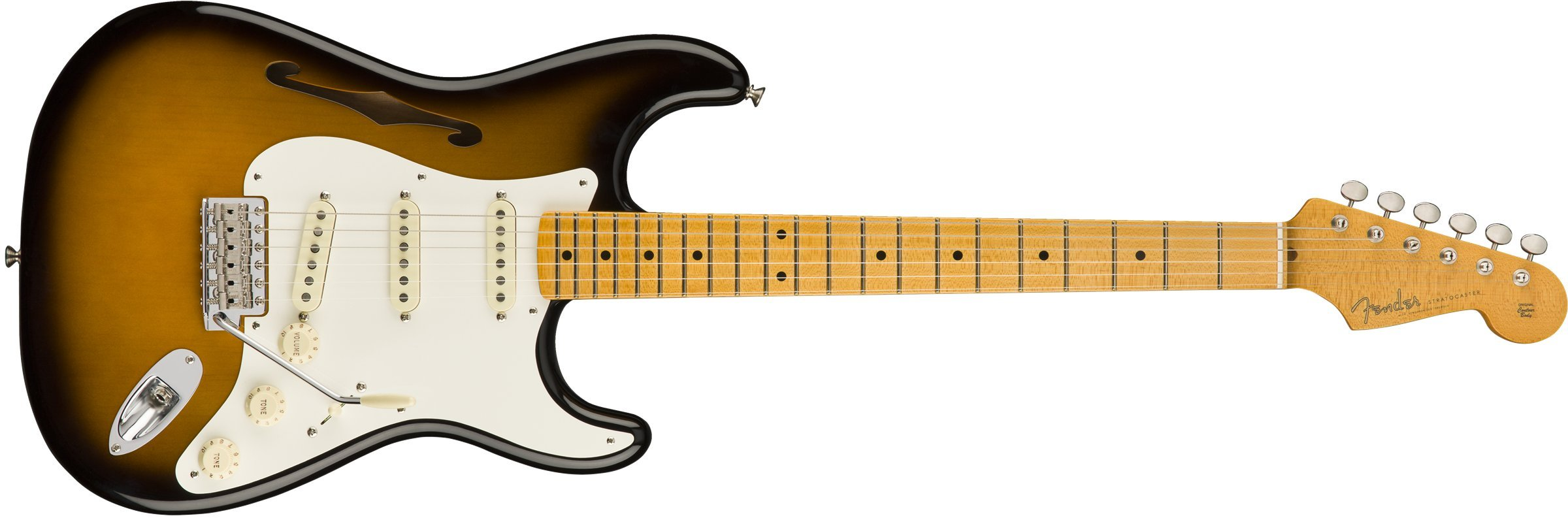 Cheap Fender Eric Johnson Thinline Stratocaster - 2-color Sunburst Black Friday & Cyber Monday 2019