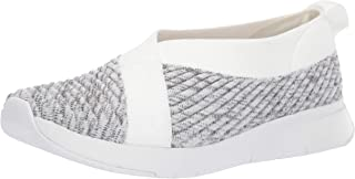 FITFLOP Womens Q77 Artknit Ballerina White Size: