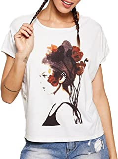 WM & MW T-Shirt for Women Fashion Tops Short Sleeve O-Neck Graphic Print Causal Blouse Tees Shirts