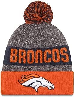 New Era NFL Sideline Bobble Beanie One Size Denver Broncos