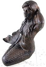 MD Cast Iron Mermaid Garden Figure