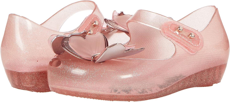mini melissa Girl's Ultragirl Fly III BB (Toddler/Little Kid) Glitter Pink 7 Toddler M