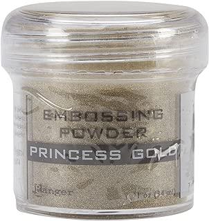 princess gold embossing powder