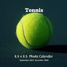 tennis girl calendar