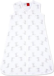 Aden by Aden and Anais Safari Babes Elephant Print 1 TOG Muslin Sleeping Bag, Black, White, Large