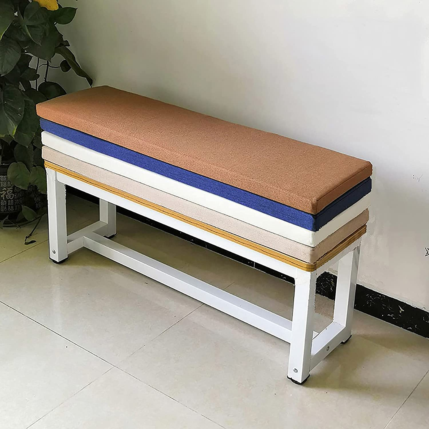 Popular overseas ADSEA Indoor Thicken Bench Multicolored Removable Cushion High order Patio